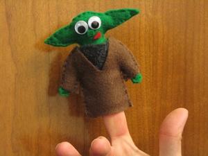 Yoda Finger Puppet